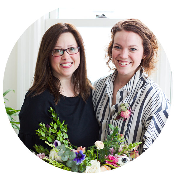 Kira Mulvany and Sarah Kelly, Roses and Mint Florals's photo